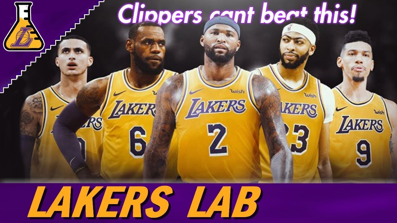 LAKERS ROSTER IS STACKED! THE CLIPPERS ROSTER DOESN'T ...Lakers Roster