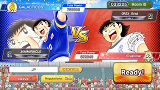 PVP vs OP RED EU - Captain Tsubasa Dream Team
