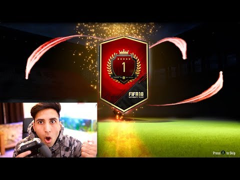 NUMBER 1 IN THE WORLD 40/40 FUT CHAMPIONS REWARDS!! (FIFA 18)