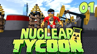 Starting out in NUCLEAR PLANT Tycoon! - Ep 1 | Roblox
