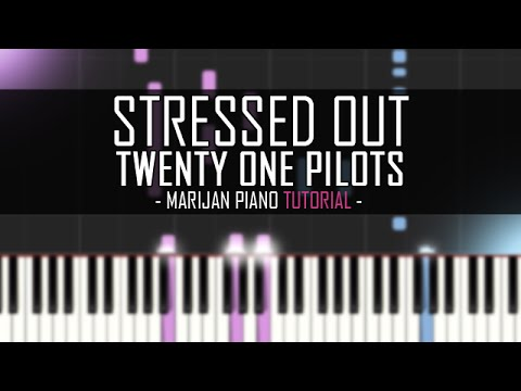 How To Play: Twenty One Pilots - Stressed Out   Piano Tutorial + Sheet Music