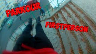 Parkour  - (firstperson) + driftování v Kauflandu