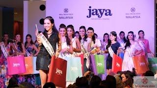 Miss World Malaysia 2014 Catwalk @ Jaya Shopping Center