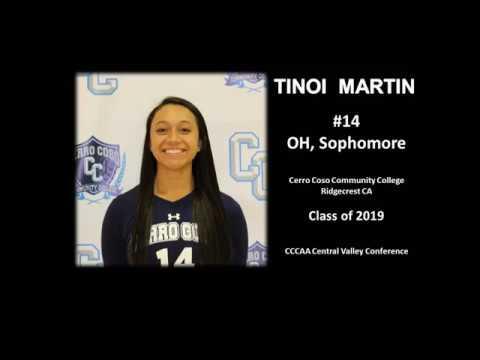 Tinoi Martin, Cerro Coso Community College (UPDATED)