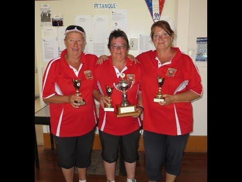 Wellington Petanque Open Triples final 2017