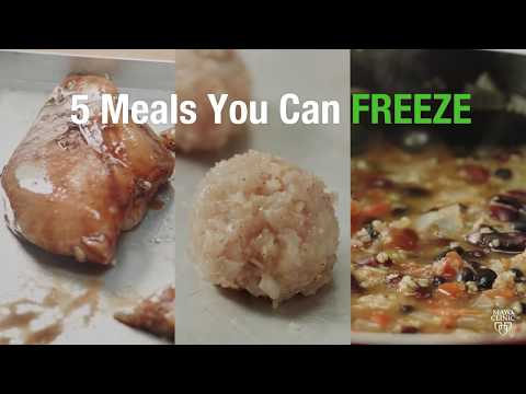 Making Mayo's Recipes: 5 Meals You Can Freeze