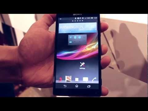 Sony Xperia ZL review, specifications, user interface, display hands on