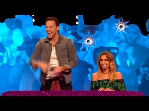 Joe Swash proposes to Stacey Solomon on Celebrity Juice