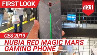 CES 2019: Nubia Red Magic Mars Gaming Phone | First Look | Digit.in