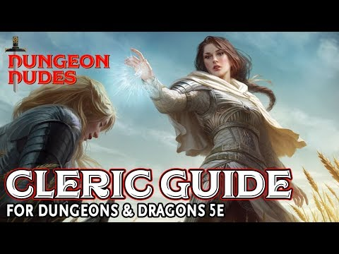 Cleric Guide for Dungeons and Dragons 5e