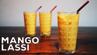 Restaurant Style Mango Lassi Recipe in English  Mango Milkshake  Smoothie