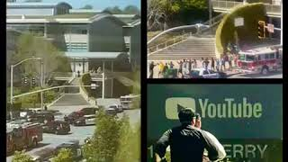 🚨 🚨🚨Female shooter at YouTube HQ is dead of self-inflicted gun shot, 4 people taken to hospital