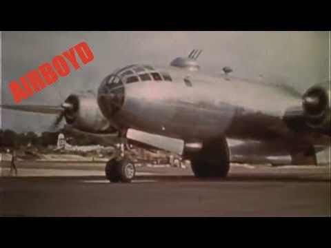 B-29 Raid With P-51 Escort