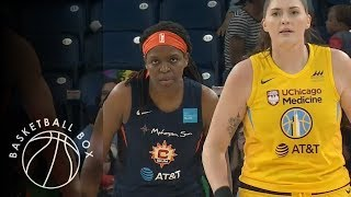 wnba connecticut sun vs chicago sky full game highlights june 23 2019