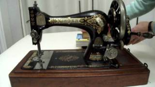 How to clean and oil a vintage sewing machine Part 1