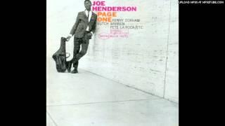 Joe Henderson - Recorda Me (1963)