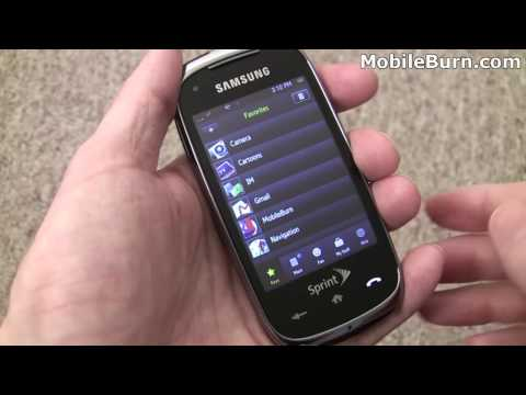 Samsung Instinct HD review - part 1 of 2