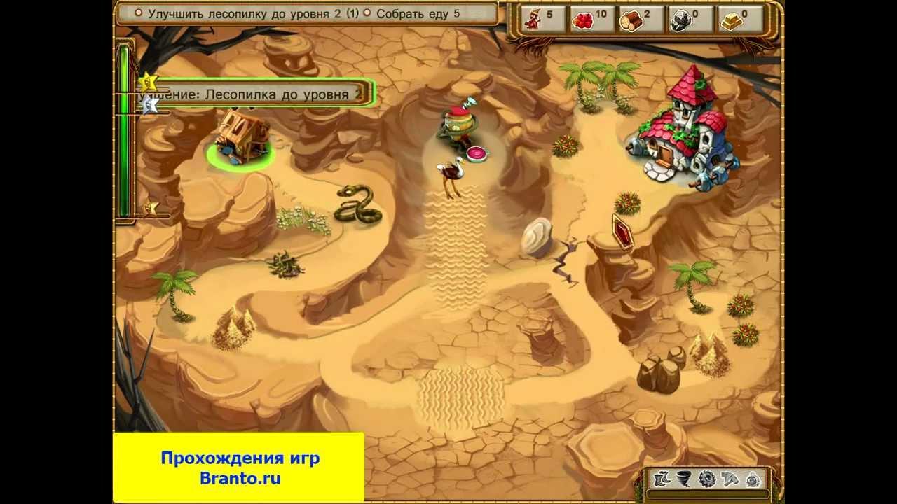 Видео-прохождение игры Жилище гномов. Поход за великим кристаллом