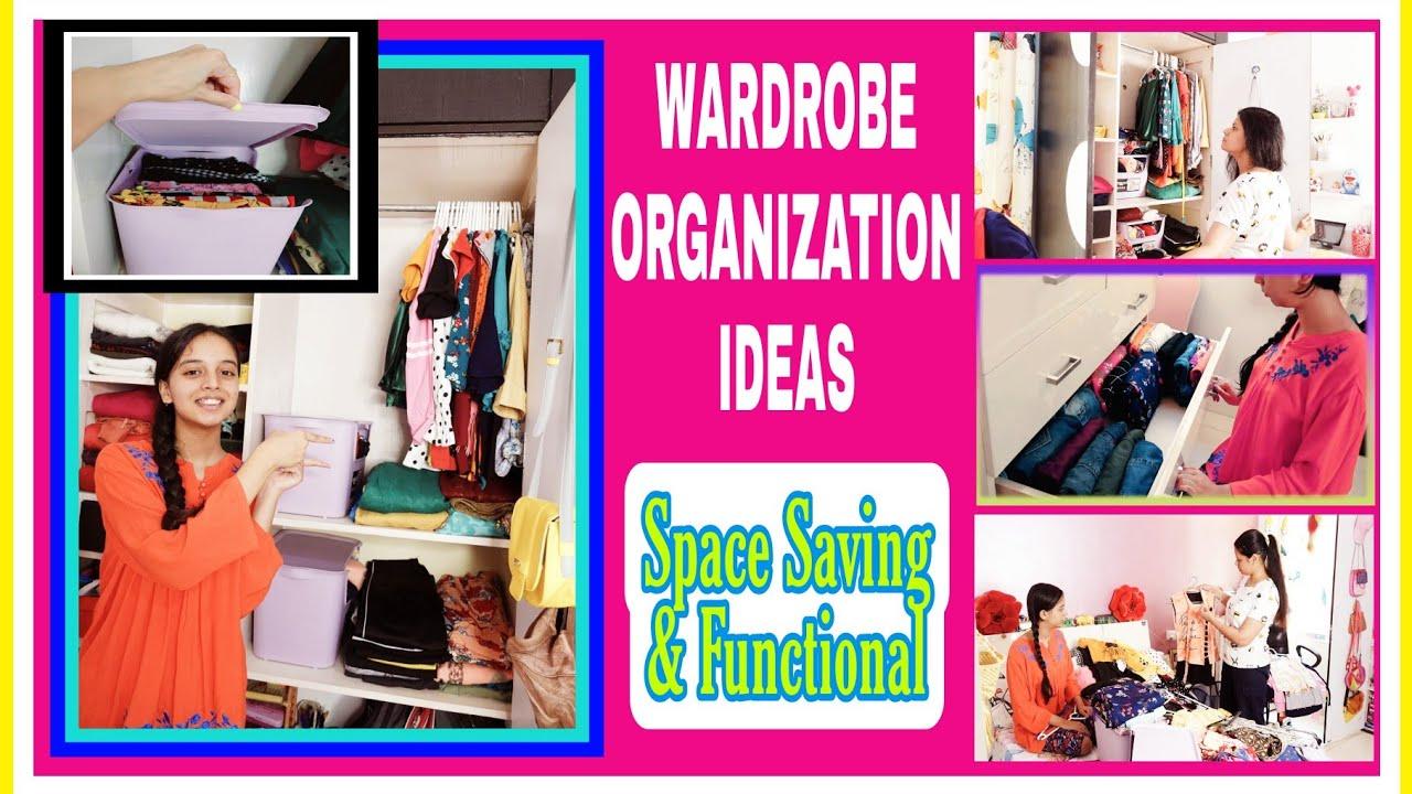 WARDROBE ORGANIZATION👗- MY DAUGHTER'S WARDROBE/CLOSET ORGANIZATION IDEAS   7 TIPS/STEPS TO ORGANIZE