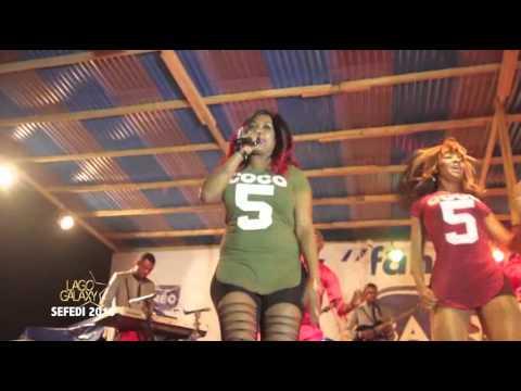 Coco Argentée - Show live SEFEDI 2016 (Yaoundé)