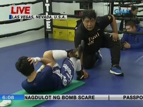 UB: Sen. Manny Pacquiao, tuloy ang training sa Las Vegas