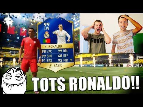 TOTS RONALDO IN EEN PACK PRANK!! FIFA 17 NEDERLANDS