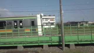【JR八高線】拝島~高麗川間、右側車窓