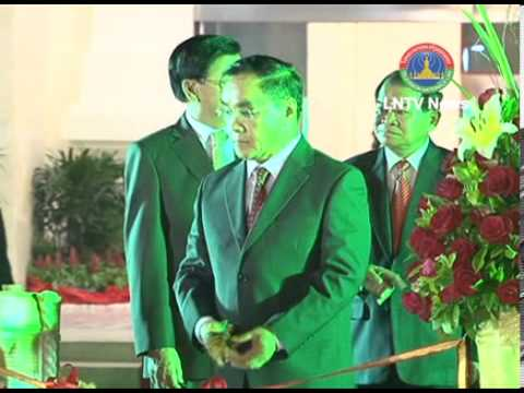 Lao NEWS on LNTV-The government plans to expand  Wattay airport's international terminal 18/4/2013