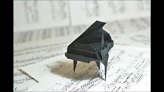 Origami Grand Piano by Patricia Crawford TUTORIAL
