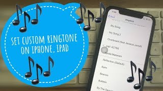 Ios 13, 12, now, follow and watch this video for a set or add any song to your iphone xs max, xr as ringtone. that's very fast ...