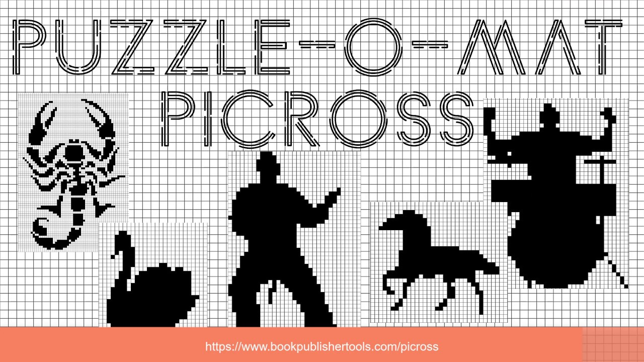 Puzzle Maker Nonogram - Easily Create Picross / Nonogram ...