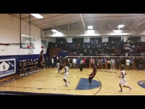 Chavis Banks Dunk against Humphreys County high school