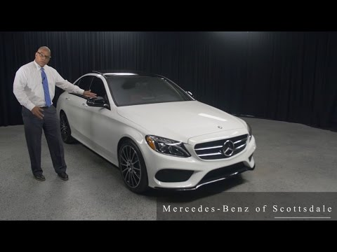 Night Package - 2017 Mercedes-Benz C-Class C 300 from Mercedes Benz of Scottsdale