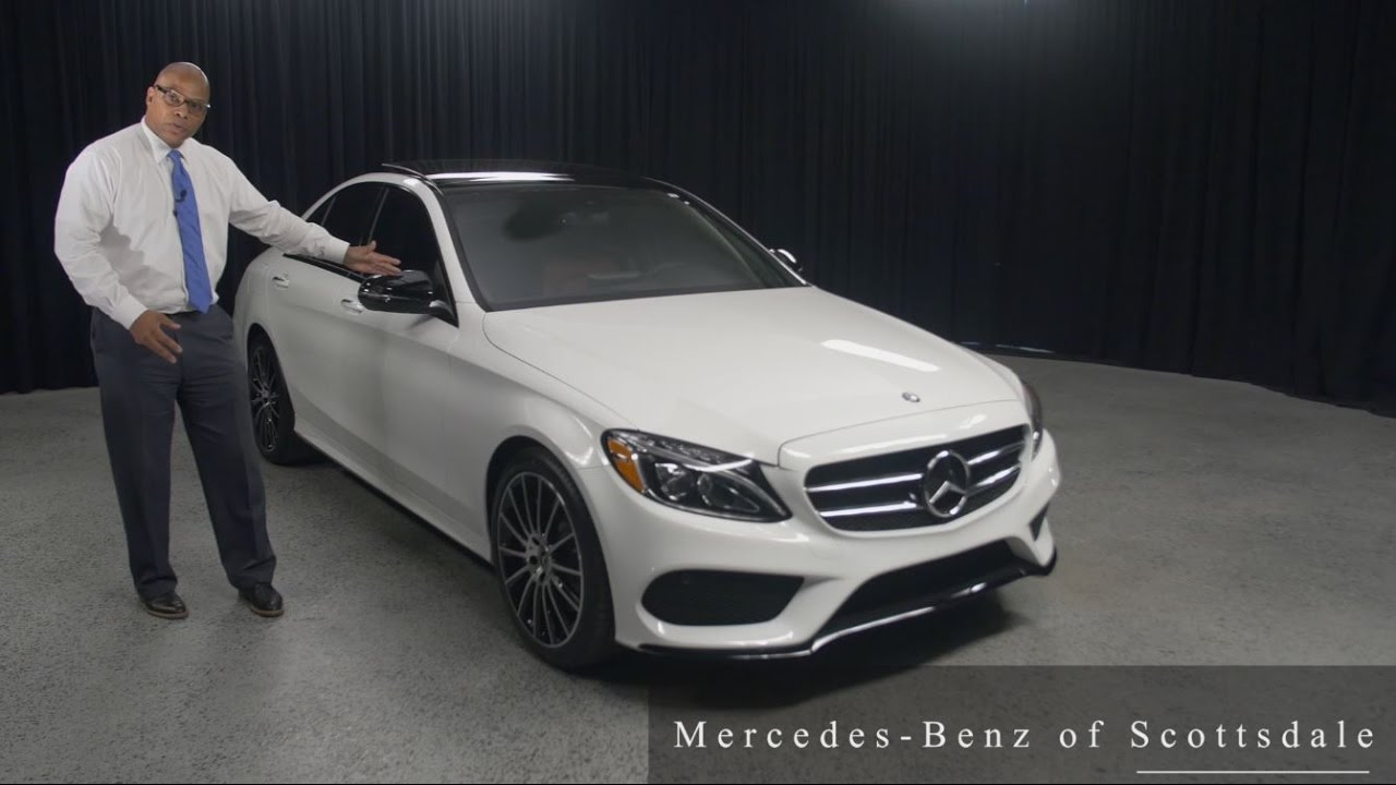 Night Package 2017 Mercedes Benz C Class C 300 From