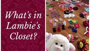 #443: Lambie's Build A Bear Clothes Collection - Lambcam