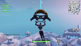 Fortnite - Search between a mysterious latch, a giant rock lady and a precarious flatbed