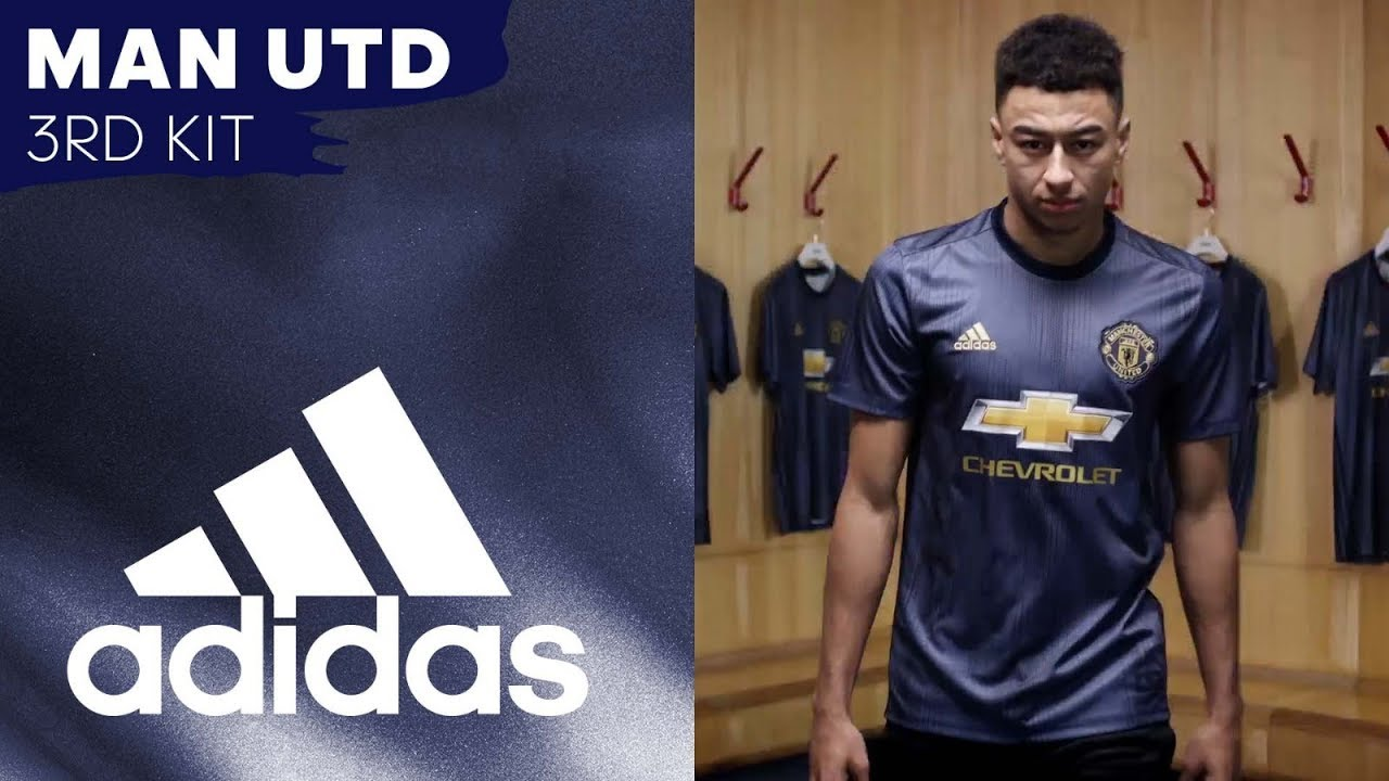 83e431c3c Plastic Fantastic: Man Utd Launch New Adidas 2018/19 Third Kit Which Is As  Green As It Is Blue (Photos & Video) | Who Ate all the Pies