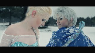 Elsa & Jack Frost - Platinum Locks Cosplay Feature