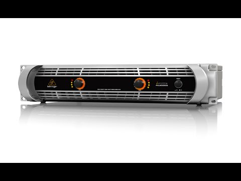 iNUKE NU6000 Ultra-Lightweight High-Density 6000-Watt Power Amplifier