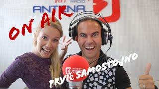 Jernej vodi program na radiu Antena