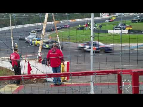 Mahoning Valley Speedway - Hobby Stock Feature - Octoberfast 2018
