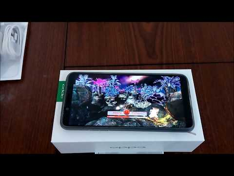 oppo a73 unboxing and antutu benchmark