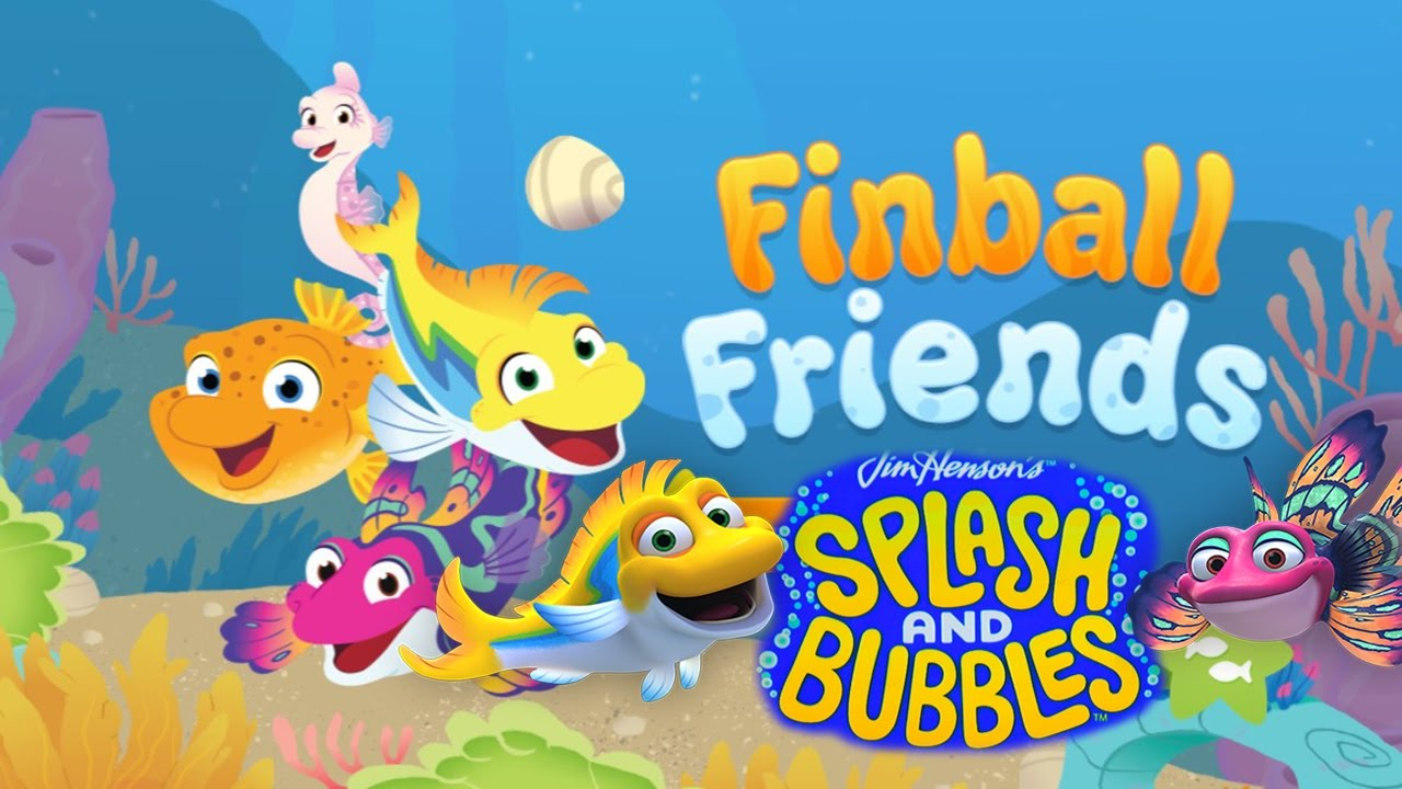 Splash and Bubbles: Finball Friends - Online Kids Gameplay HD
