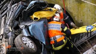 Accident avec désincarcération à Bergheim - 2 blessés graves