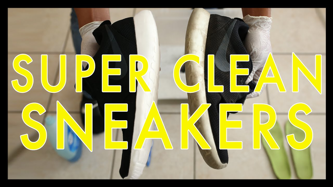 how to keep sneakers clean