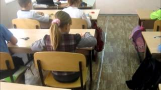 Фрагмент урока технологии (1 класс)