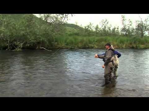 NO SEE UM LODGE CHAR & DOLLY FISHING IN ALASKA