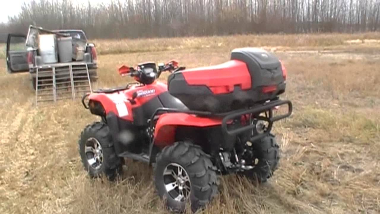 2007 suzuki king quad 700 - YouTube