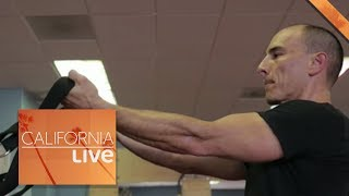 Veteran Who Lost Leg Finds Courage to Open a Gym | California Live | NBCLA