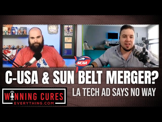 Conference USA and Sun Belt merger? La Tech AD says no way.